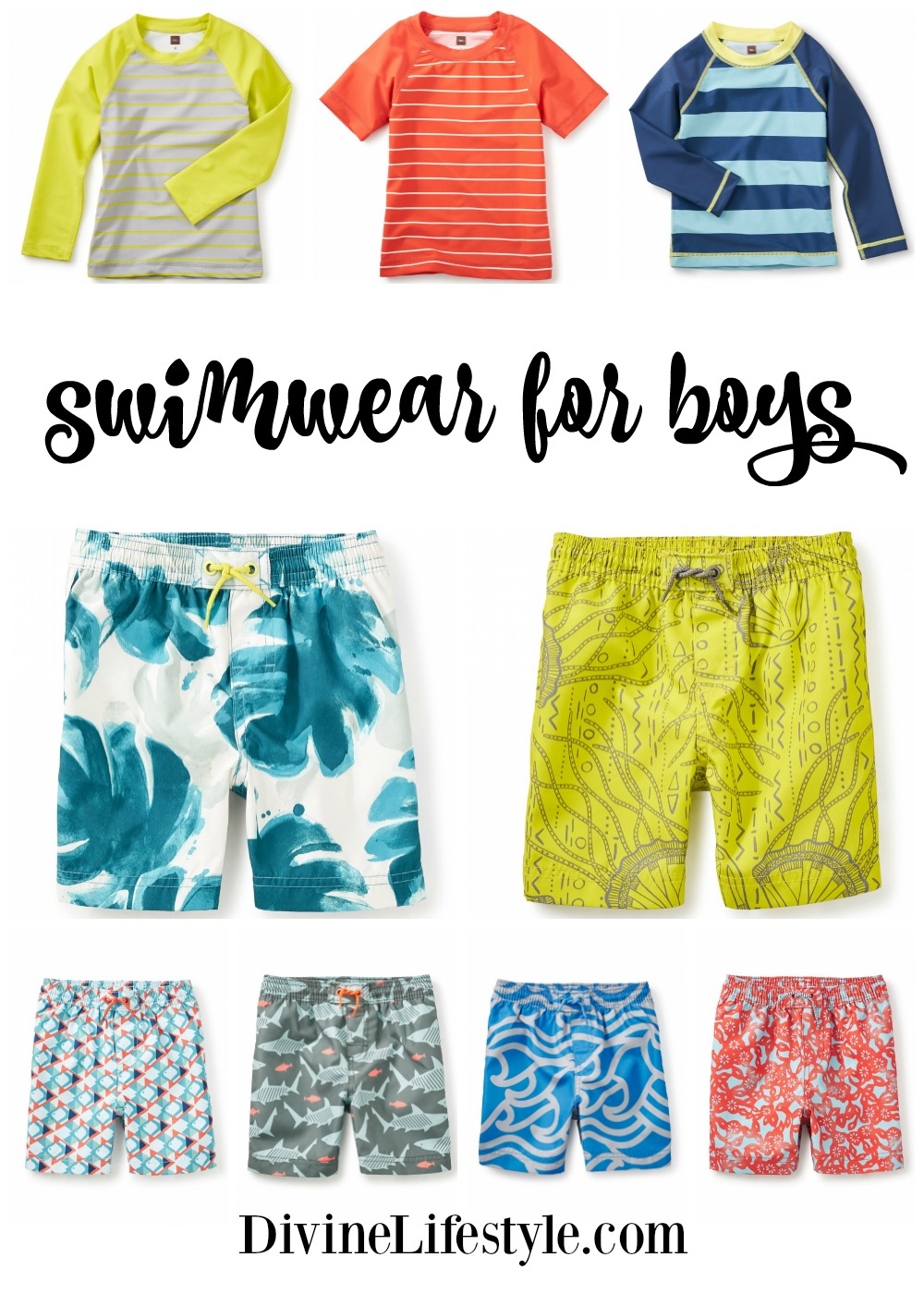 Super Swimwear for Boys