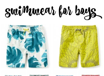 Super Swimwear for Boys