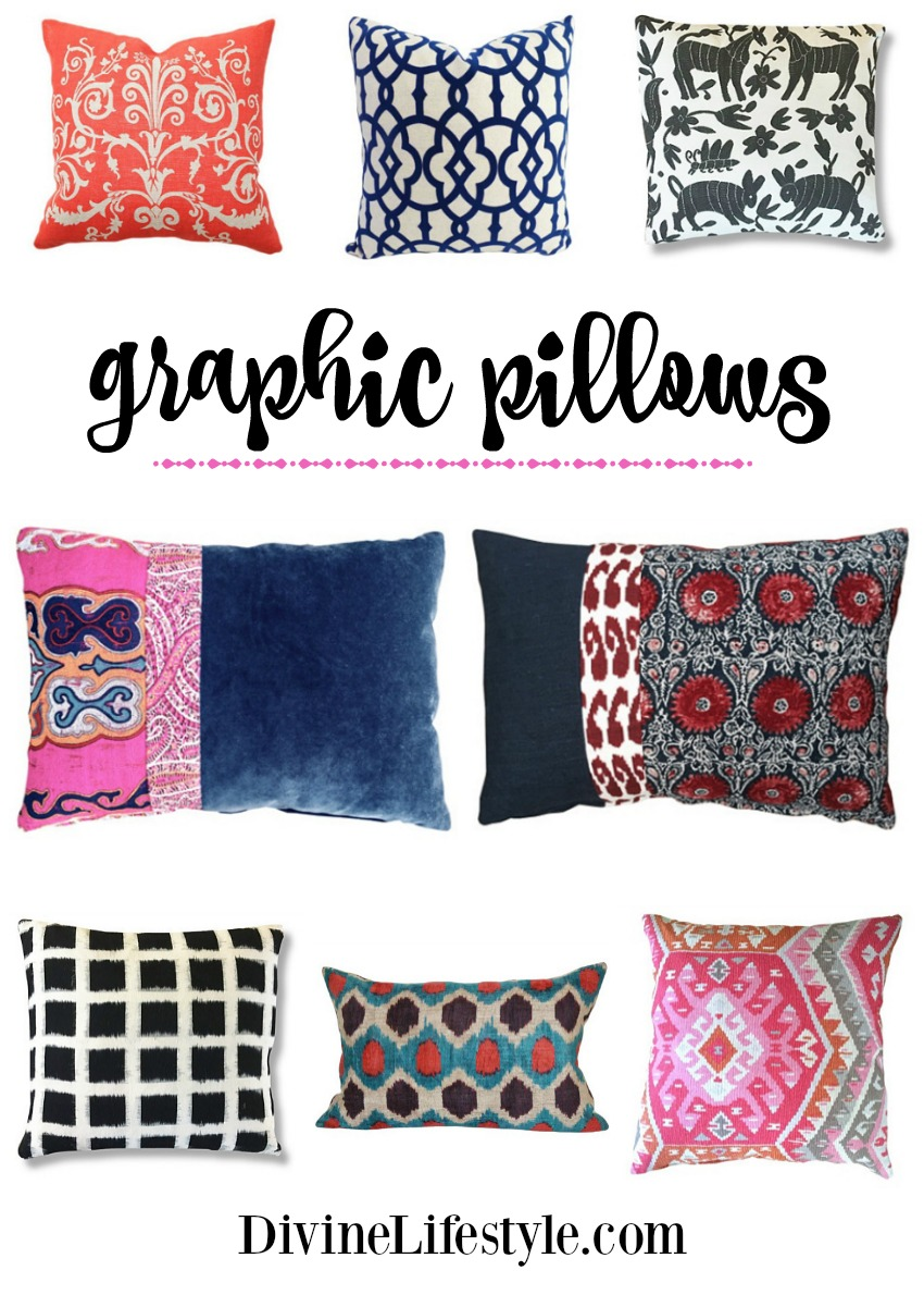 Graphic Pillows: A Bold Addition to Your Decor