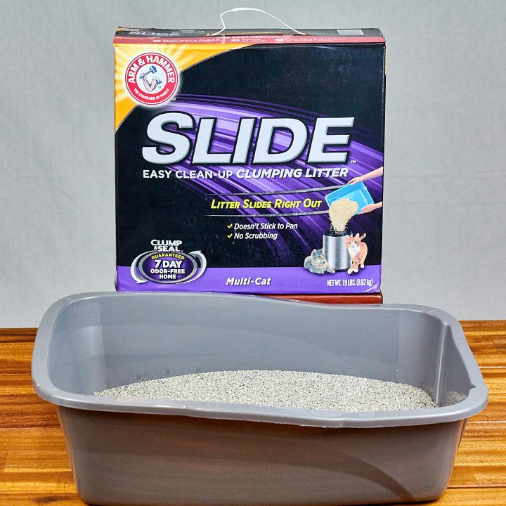 ARM & HAMMER SLIDE Easy Clean-Up Clumping Litter