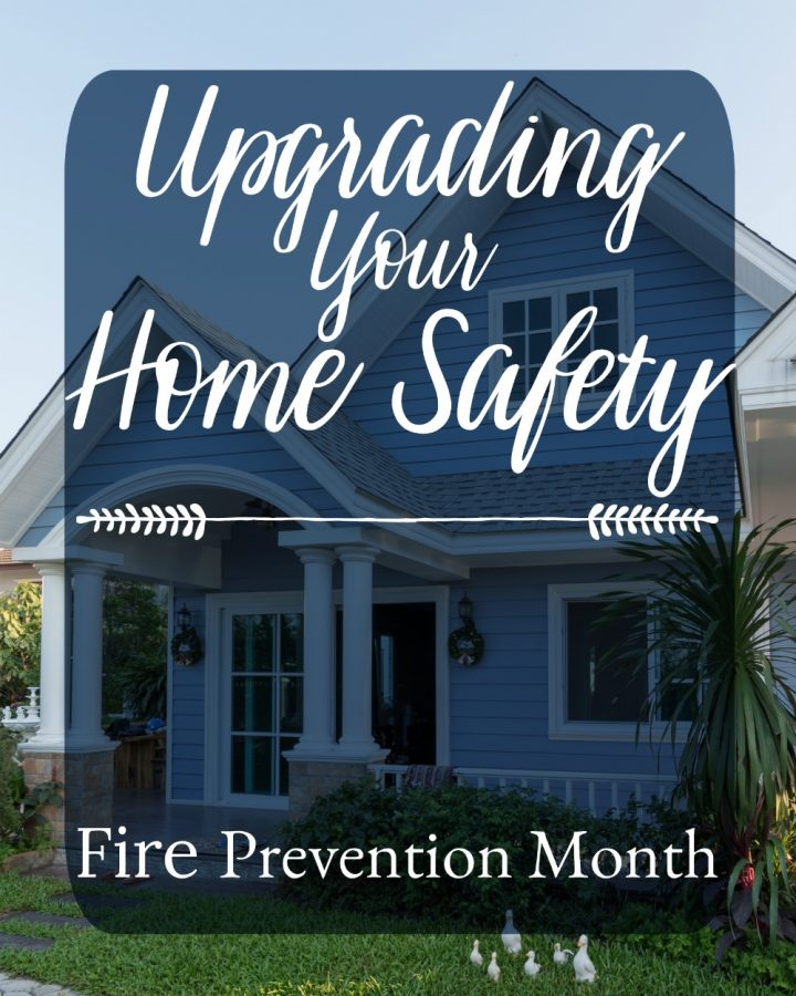Fire Prevention Month | Upgrading Your Home Safety @FirstAlert #SuperPreparedFamily