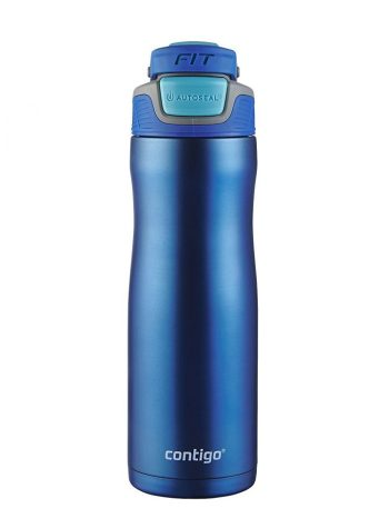 Gift Guide for the Fitness Lover Contigo AUTOSEAL Fit Trainer Stainless Steel Water Bottle Amazon
