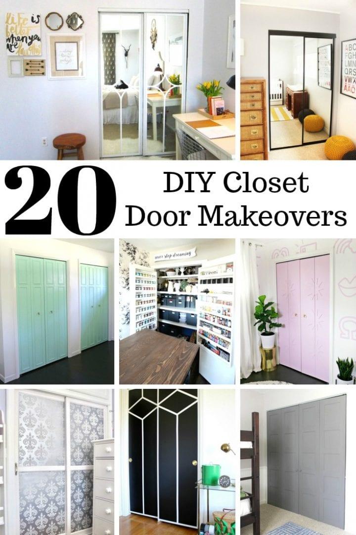 Diy Closet Door Makeover Ideas Home Design Bedroom Decor