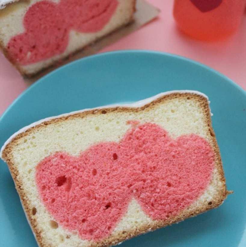 Hidden Hearts Pound Cake Recipe