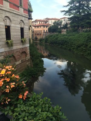 Divine Light Vibrations, Glenn Younger author and spiritual coach's hometown of Vicenza, Italy