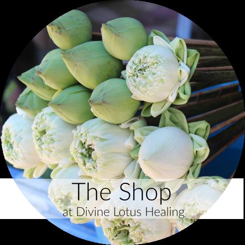 Divine Lotus Healing Shop Round