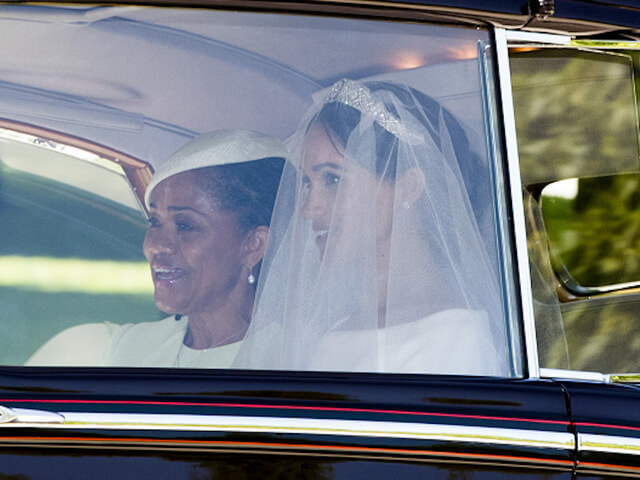 Meghan Markle and mother Doria Ragland Royal Wedding