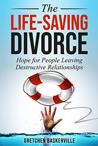The Life-Saving Divorce by Gretchen Baskerville addresses divorce in the church, providing statistics and scripture explaining why divorce is often a life-saving decision.