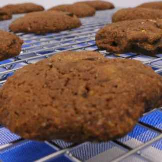 gluten free baking - gluten free chocolate chocolate chunk cookie mix