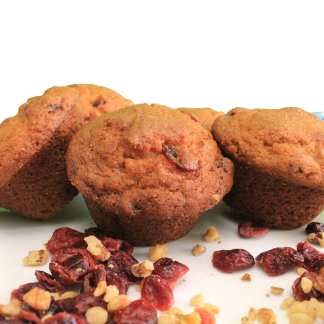 gluten free cranberry walnut muffin mix