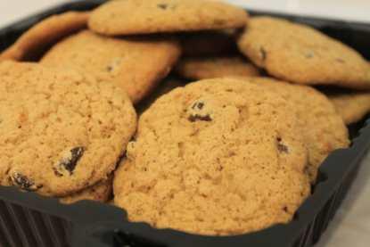 gluten free chocolate chip cookies - bakery fresh