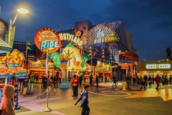 Springfield's The Krusty Burger at Universal Studios Hollywood