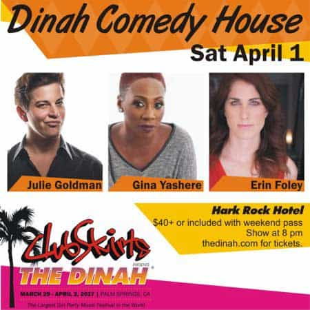 "Julie Goldman Slated to Headline ""The Dinah Comedy House"" With Gina Yashere & Erin Foley"