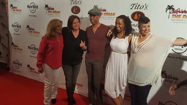 Red Carpet & Pink Pussy Party at Dinah Shore Weekend 2017