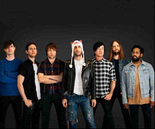 Maroon 5 Releases New Track 'Wait' from Forthcoming LP 'Red Pill Blues'