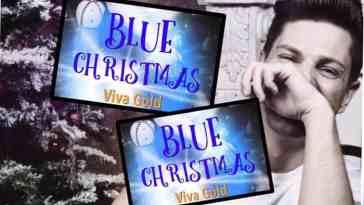 Blue Christmas by Viva Gold