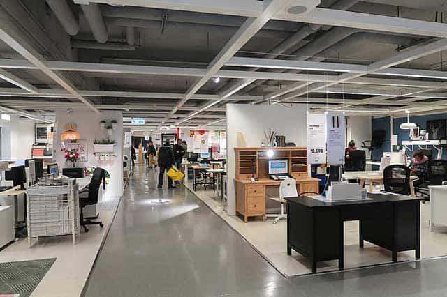 800px IKEA furniture display in HK Homesquare 2018