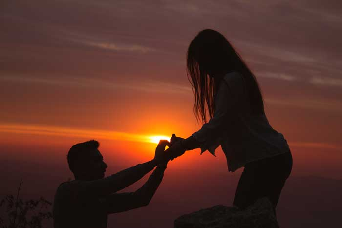 Getting Creative With A Wedding Proposal: 4 Ideas