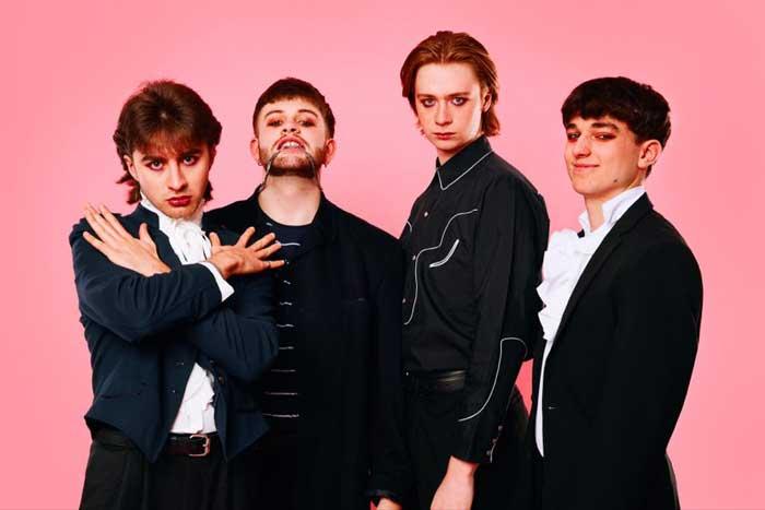 Preston band Sugarstone revive New Romantic scene with latest song