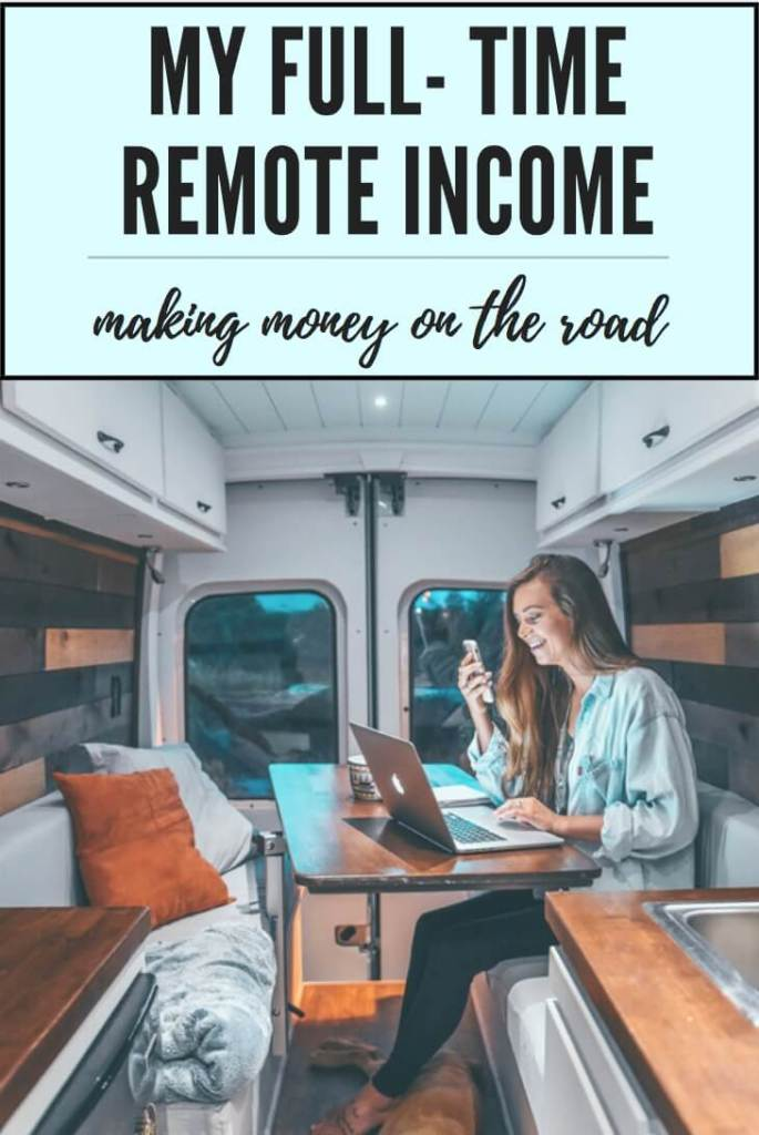 My Full- Time Remote Income | Divine On The road