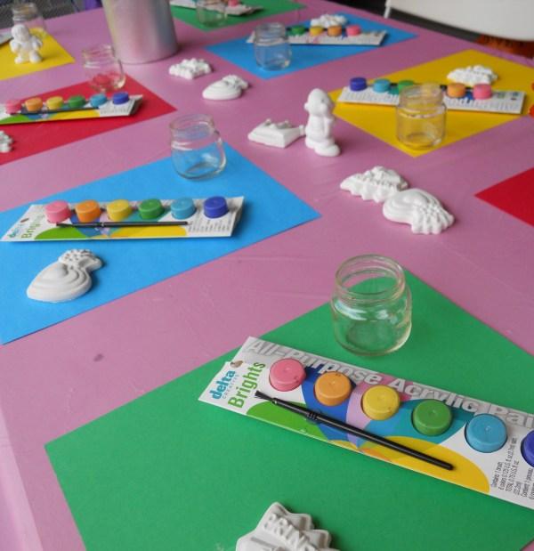 Painting Birthday Party Idea