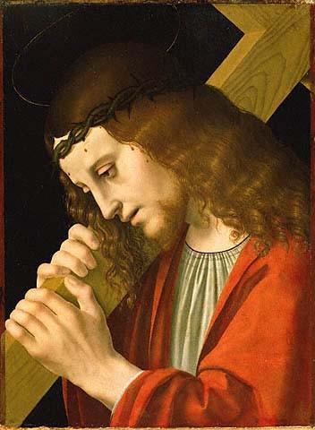 Le Christ portant sa croix - Ambrogio de Predis
