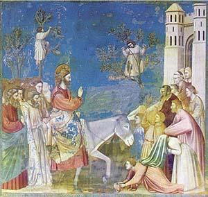 Entrée à Jérusalem - Giotto
