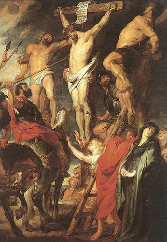 La lance de longinus - Rubens