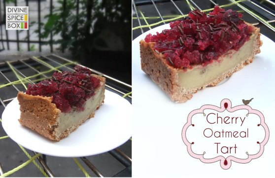 cherry-oatmeal-tart
