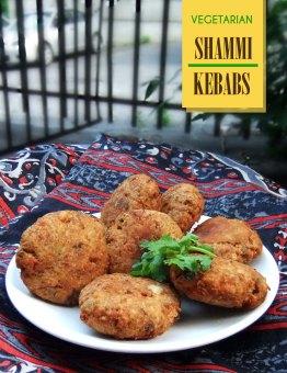 Vegetarian Shammi Kebabs