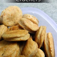 Cheddar Pepper Crackers