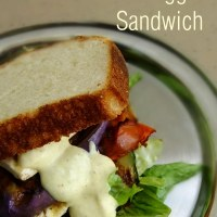 Honey Mustard Grilled Veggie Sandwich