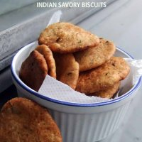 Masala Mathri - Indian Savory biscuits