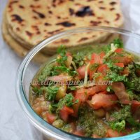 Matra Chaat - Spicy dried yellow peas