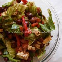 Protein Power Kala Chana Salad