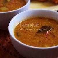 Restaurant Style Sambhar