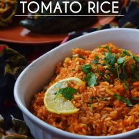 Quick '30 mins' Spanish Tomato Rice