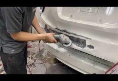 How to repair a car dent