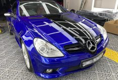 san marino blue slk car spray sg b51 divinesplash.com divine splash blue slk. car spray singapore merc slk