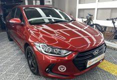 candy red elantra.hyundai avante candy red. car spray painting singapore. divinesplash.com car spray sg. divine splash candy red