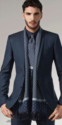 Men: Stylish Looks For Wearing Scarves | Divine Style