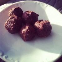 Chocoballen met kokos