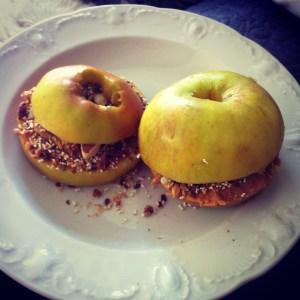 appel-pindakaas-sandwich