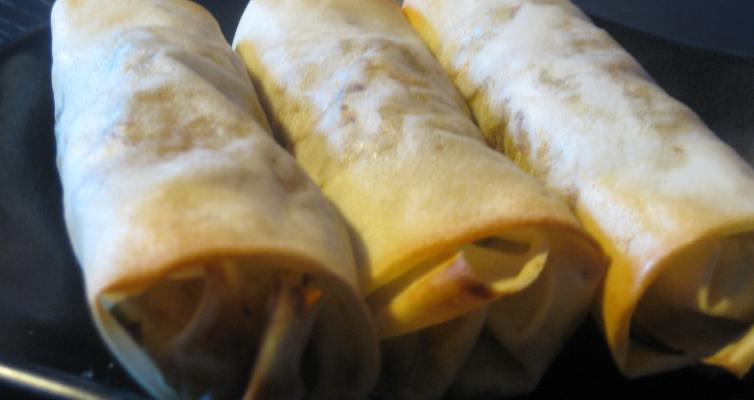 Baked Sri Spring Roll Recipe With Sweet and Sour Sauce