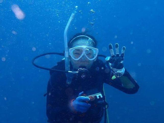 水中写真ダイブ