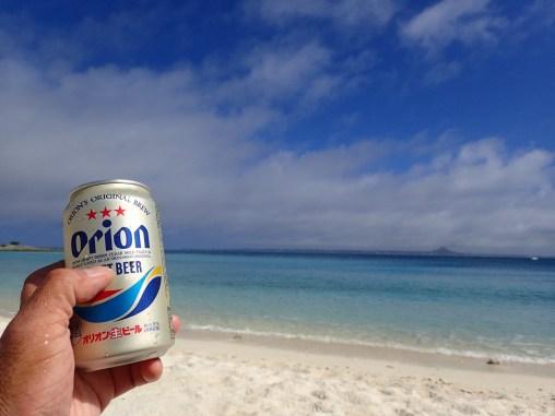 楽園水納島ビーチビール