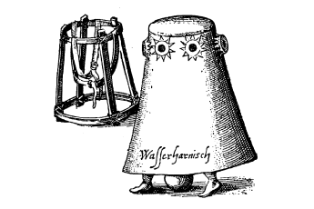 Kessler diving bell and harness (Public Domain)