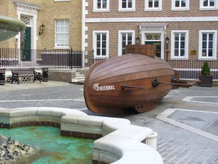 Drebbel Reconstruction in London. Photo by Colin Smith (Creative Commons)