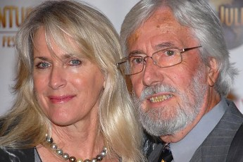 Jean-Michel Cousteau with wife Nancy Marr in 2007. Photo by Luke Ford (Creative Commons)