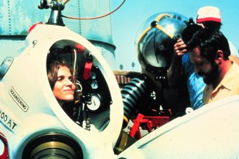 Dr. Sylvia Earle prepares to dive in a JIM suit. Photo: OAR/NURP